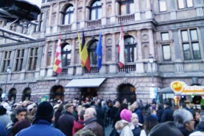 Antwerpen viering 450 jaar Stadhuis